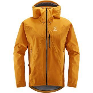 Haglöfs L.I.M Touring PROOF Jacket Hardshelljacke Herren Desert Yellow