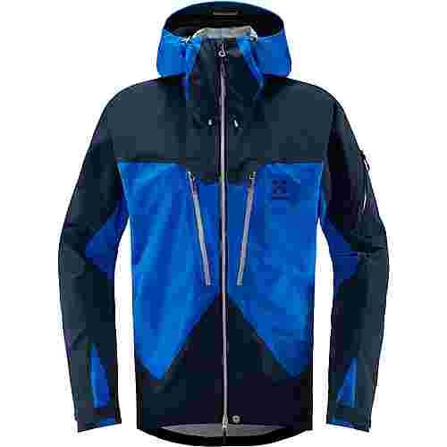 Haglöfs GORE-TEX® Spitz Jacket Hardshelljacke Herren Storm Blue/Tarn Blue