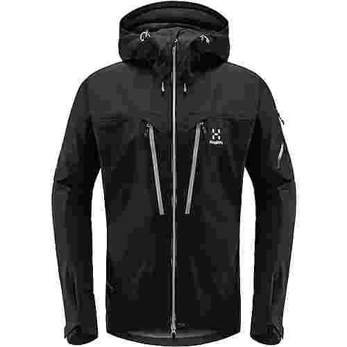 Haglöfs GORE-TEX® Spitz Jacket Hardshelljacke Herren True Black