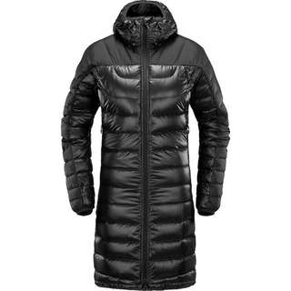 Haglöfs Bivvy Down Parka Parka Damen True Black Solid