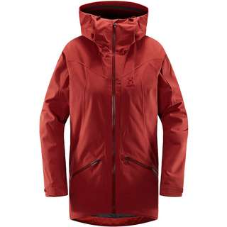 Haglöfs Niva Insulated Parka Parka Damen Brick Red