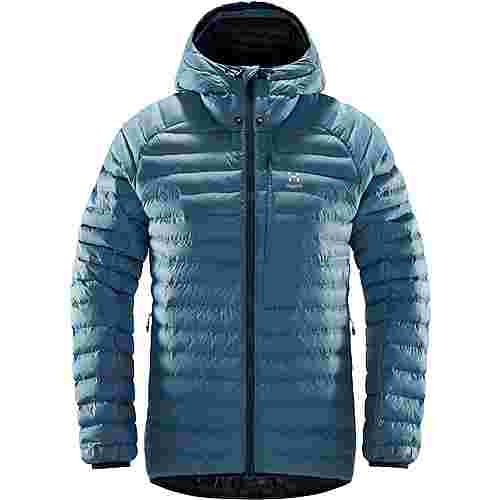 Haglöfs Essens Mimic Hood Outdoorjacke Damen Silver Blue/Dense Blue