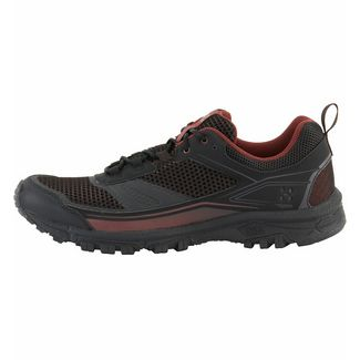 Haglöfs Gram Trail Wanderschuhe Herren True Black/Maroon Red