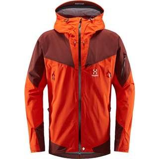 Haglöfs GORE-TEX Roc Spire Jacket Hardshelljacke Herren Habanero/Maroon Red