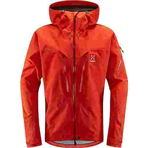 Haglöfs GORE-TEX® Spitz Jacket Hardshelljacke Herren Habanero