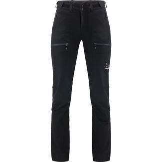 Haglöfs Breccia Pant Trekkinghose Damen True black/magnetite short