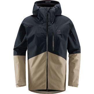 Haglöfs GORE-TEX® Nengal Jacket Snowboardjacke Herren True Black/Dune