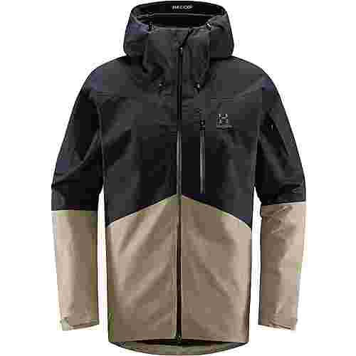 Haglöfs GORE-TEX® Nengal Jacket Hardshelljacke Herren True Black/Dune