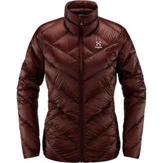 Haglöfs L.I.M Essens Jacket Daunenjacke Damen Maroon Red