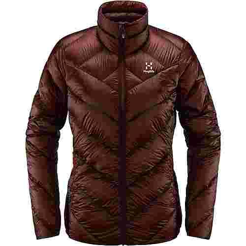 Haglöfs L.I.M Essens Jacket Outdoorjacke Damen Maroon Red