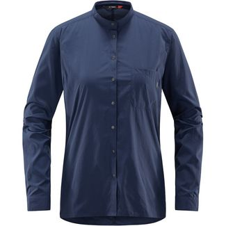 Haglöfs Vajan LS Shirt Outdoorhemd Damen Tarn Blue