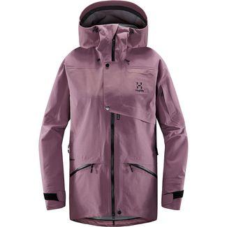 Haglöfs Khione 3L PROOF Jacket Hardshelljacke Damen Purple Milk