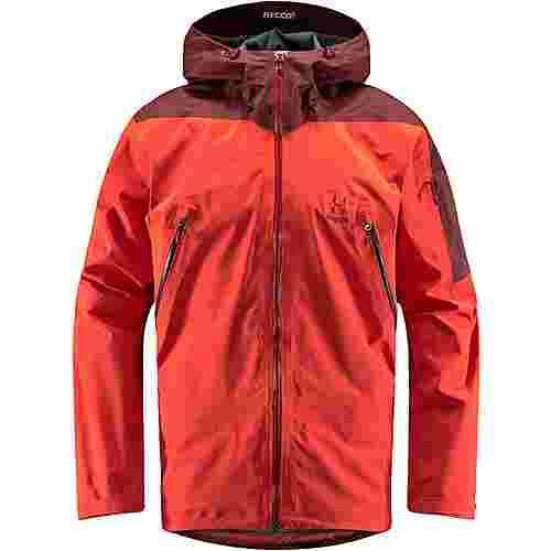 Haglöfs GORE-TEX® Couloir Jacket Hardshelljacke Herren Habanero/Maroon Red