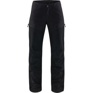 Haglöfs Mid Flex Pant Trekkinghose Damen True Black Solid Long