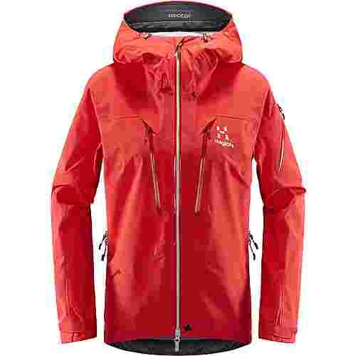 Haglöfs GORE-TEX® Spitz Jacket Hardshelljacke Damen Hibiscus Red