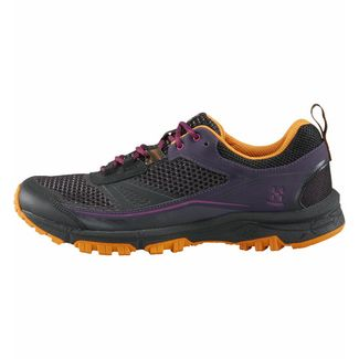 Haglöfs Gram Trail Wanderschuhe Damen Acai Berry/True Black