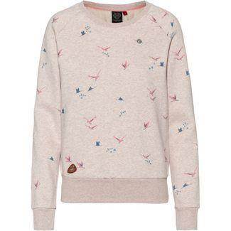Ragwear Johanka Birds Sweatshirt Damen beige