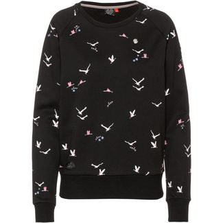 Ragwear Johanka Birds Sweatshirt Damen black
