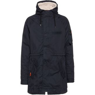Superdry Winter Aviator Parka Herren dark navy
