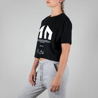 MOROTAI Signature Shirt T-Shirt Damen Schwarz