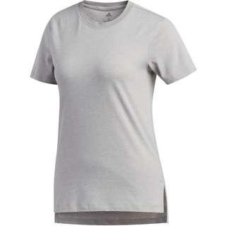 adidas Go-To Funktionsshirt Damen medium grey heather