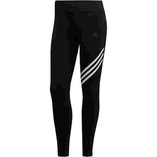 adidas RUN IT RESPONSE AEROREADY Lauftights Damen black