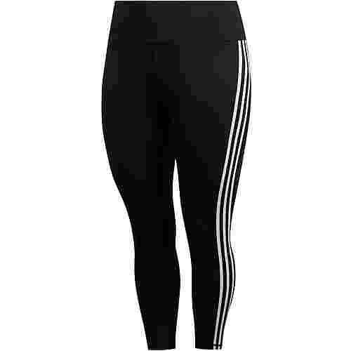 adidas Plus Size Tights Damen black