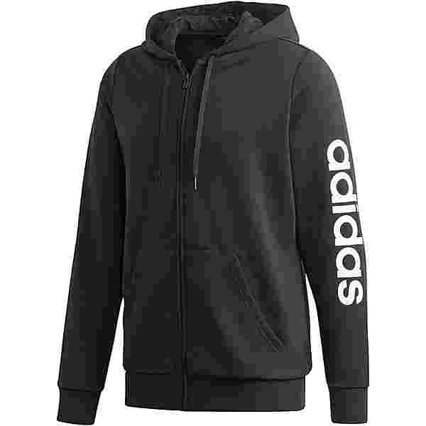 adidas Plus Size Sweatjacke Damen black