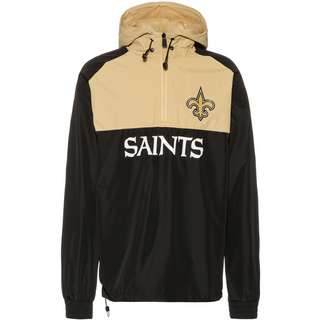 New Era New Orleans Saints Windbreaker Herren black-gold