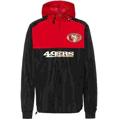 New Era San Francisco 49ers Windbreaker Herren black-red