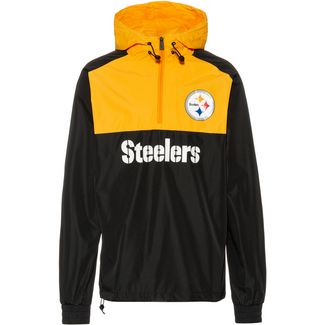 New Era Pittsburgh Steelers Windbreaker Herren black-yellow