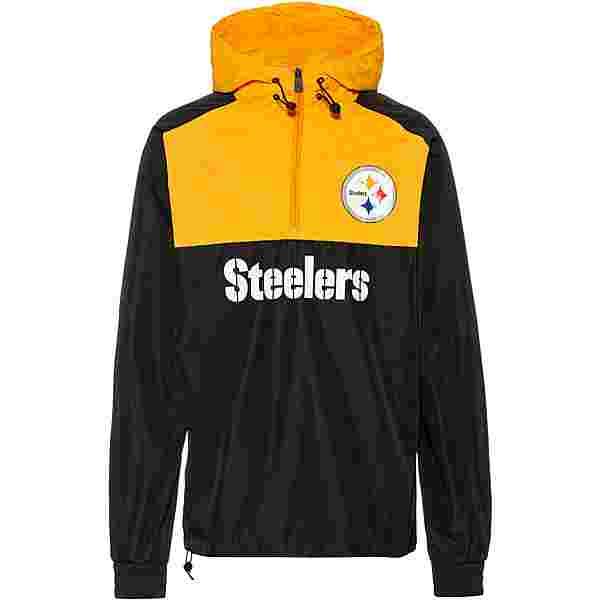 New Era Pittsburgh Steelers Windbreaker Herren black-yellow