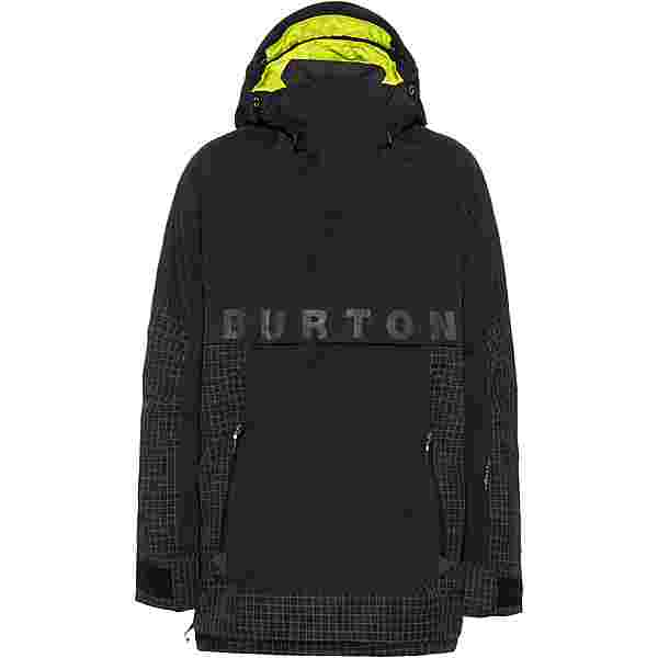 Burton Frostner Snowboardjacke Herren true black-true black ripstop