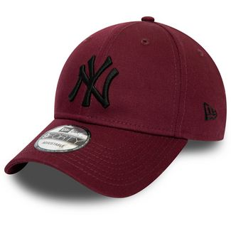 New Era 9Forty New York Yankees Cap weinrot