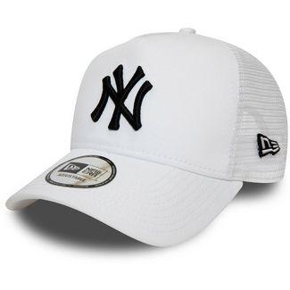 New Era A-Frame Trucker New York Yankees Cap white