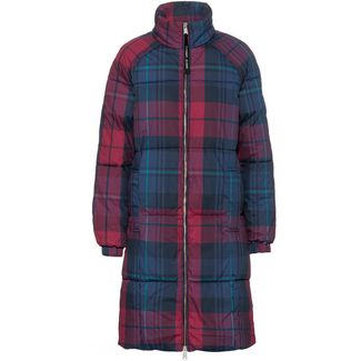 Tommy Hilfiger Steppmantel Damen blue print-multi check
