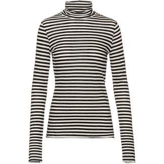 ARMEDANGELS Malenaa Langarmshirt Damen black-sandshell