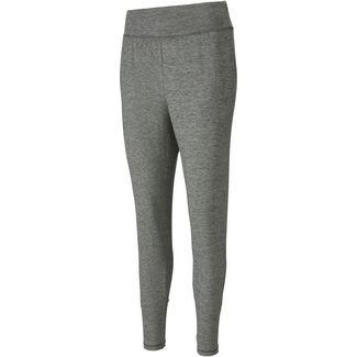 PUMA Yoga Funktionshose Damen medium grey heather