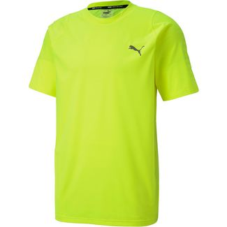 PUMA Power Thermo R+ Funktionsshirt Herren yellow alert