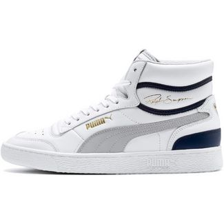 PUMA Ralph Sampson Sneaker Herren puma white-gray violet-peacoat