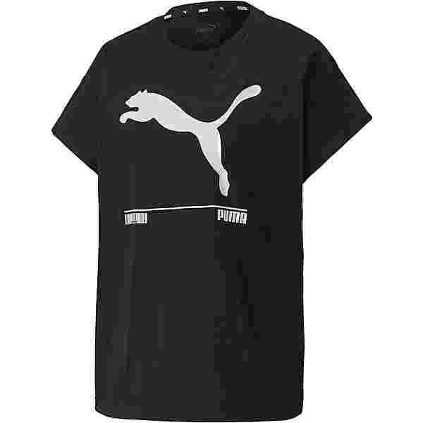 PUMA Nu-Tility T-Shirt Damen puma black
