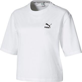 PUMA Tailored for Sport T-Shirt Damen puma white-puma black