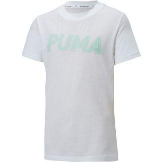 PUMA Funktionsshirt Kinder puma white-mist green