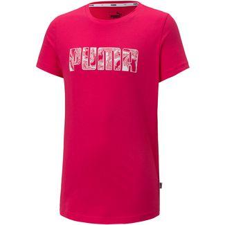 PUMA T-Shirt Kinder bright rose