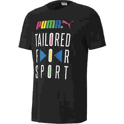 PUMA T-Shirt Herren black