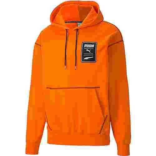 PUMA Recheck Hoodie Herren vibrant orange