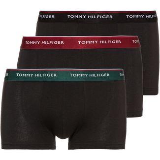 Tommy Hilfiger Boxer Herren black-botanical garden-rhubarb