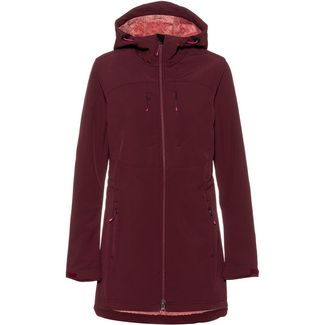 ICEPEAK Bloomer Softshelljacke Damen wine