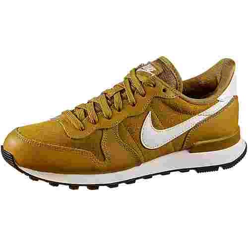 Nike Internationalist Sneaker Damen gold suede-phantom-black