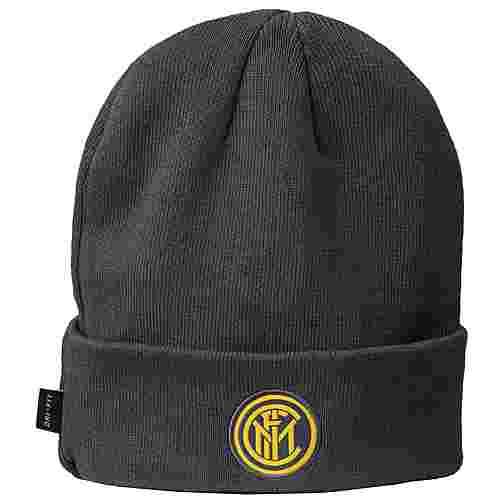 Nike Inter Mailand Beanie Herren dunkelgrau / gelb